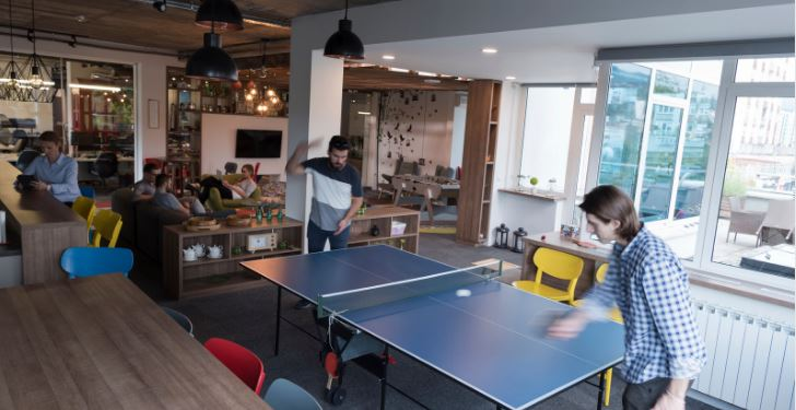 how much space need for ping pong table