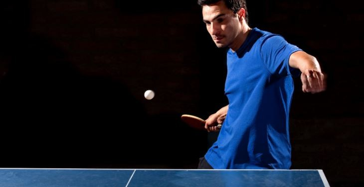 return spin serve in table tennis